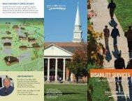 dISAbILITy SErVICES - Mount Vernon Nazarene University