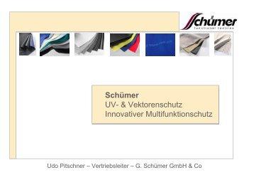 Schümer UV- & Vektorenschutz Innovativer Multifunktionschutz - ZiTex