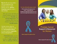 download - Women Against Prostate Cancer