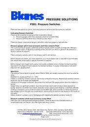 Blanes Pressure Solutions