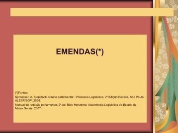 ILP – Oficina de Técnica Legislativa - Assembleia Legislativa do ...