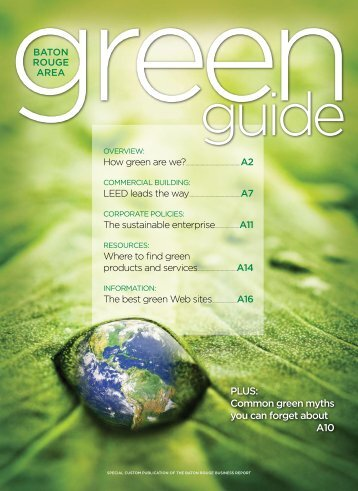 Business Report's Green Guide - Louisiana Solar Energy Society