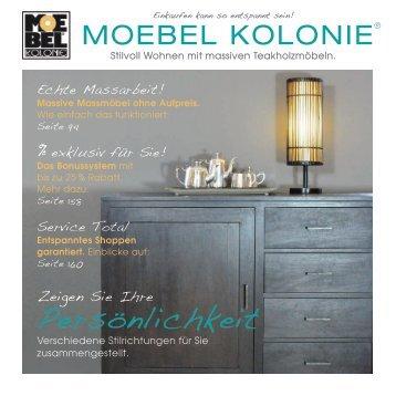 Moebel Kolonie 3 free magazines from moebelkolonie com