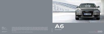 Prospectus Audi Α6 Saloon (6 MB)