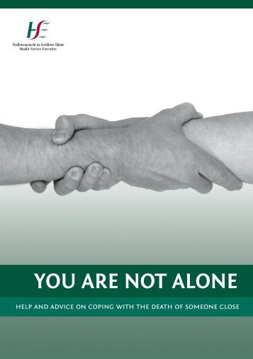 YOU ARE NOT ALONE - National Office for Suicide Prevention