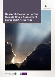 Research Evaluation of the Suicide Crisis Assessment Nurse (SCAN ...