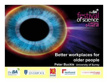 Better workplaces for older people - SPARC - Strategic Promotion of ...