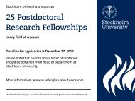 25 Postdoctoral Research Fellowships - InterRidge