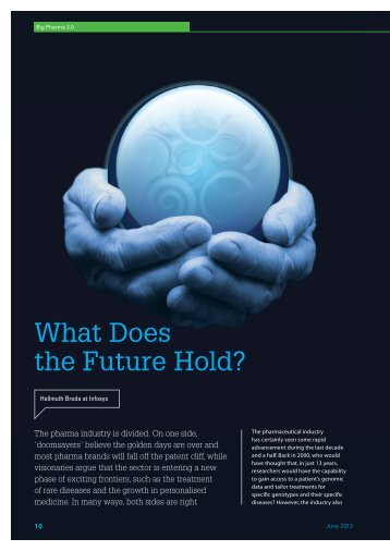 What Does the Future Hold? - Hellmuth Broda