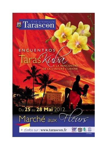 I) Marché aux Fleurs - Tarascon