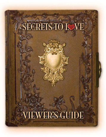 Download the Secrets to Love Viewer's Guide (pdf)