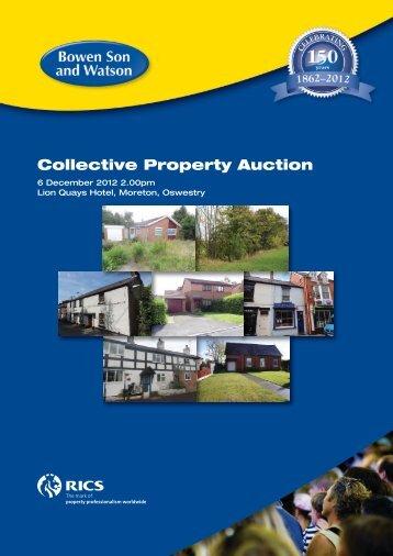Collective Property Auction - Bowen Son & Watson