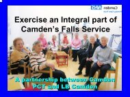 Falls Referral Service in Camden - SPARC