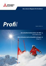 Kundenmagazin - Profil 02/10 - MITSUBISHI ELECTRIC ...