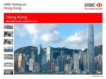 Hong Kong and RMB internationalisation