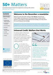 Issue 17 - November 2010 - TAEN