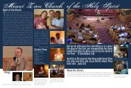 Mount Zion Church of the Holy Spirit - Summit International School ...