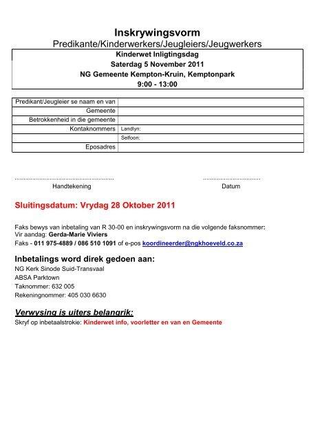 PROGRAM - Kerkweb.org