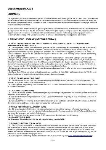EKUMENE - Kerkweb.org