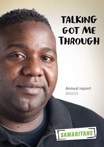 Samaritans Annual Report and Accounts