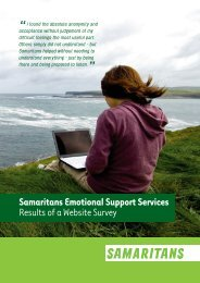 Download the report (PDF) - Samaritans