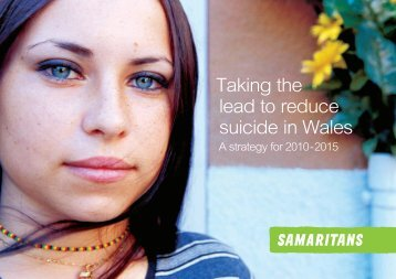 Taking the lead to reduce suicide in Wales - Samaritans