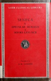 SENECA - College of Stoic Philosophers