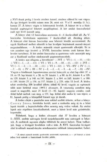 Apor-kódex - MEK