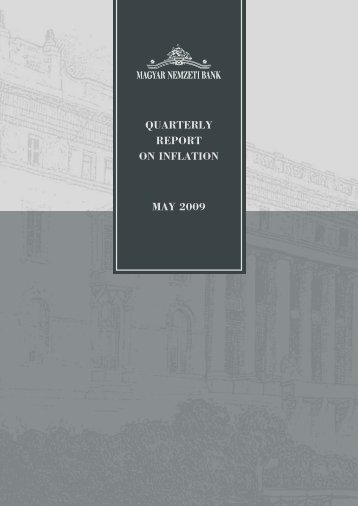 QUARTERLY REPORT ON INFLATION MAY 2009