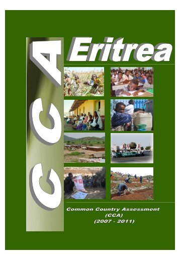 Common Country Assessment (CCA) - ECSS | Eritrean Center for ...