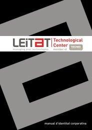 manual d'identitat corporativa - Leitat