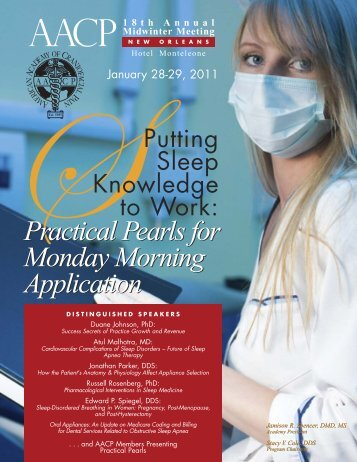 Practical Pearls for Monday Morning Application Practical Pearls for ...