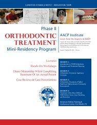 orthodontic treatment - American Academy of Craniofacial Pain