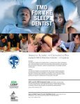 tmd for the sleep dentist - American Academy of Craniofacial Pain - Page 6