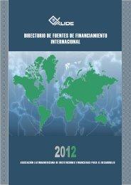 directorio de fuentes de financiamiento internacional - Alide
