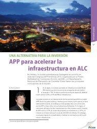 APP para acelerar la infraestructura en ALC - Alide