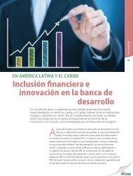 Inclusión financiera e innovación en la banca de desarrollo - Alide