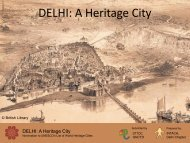 DELHI: A Heritage City - Delhi Heritage City