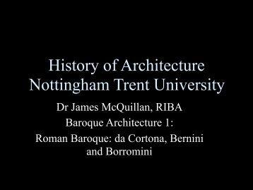 Lecture 12 Baroque 1