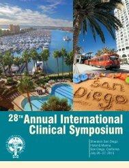 28THAnnual International Clinical Symposium - American Academy ...