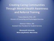 Creating Caring Communities Through Mental Health Awareness ...