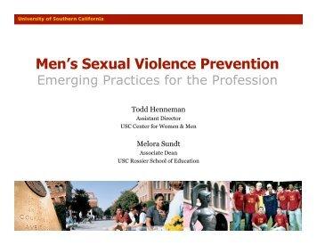 Men's Sexual Violence Prevention