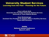 University Student Services