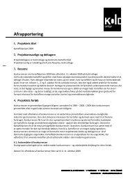 Afrapportering - Kartoffelafgiftsfonden.dk