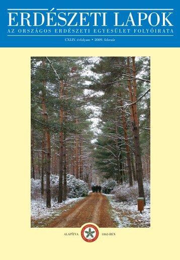 Erdészeti Lapok 144. évf. (2009.) 2. sz. (február)