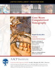 Cone Beam Computerized Tomography - American Academy of ...