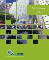 Memoria 2011 - Alide