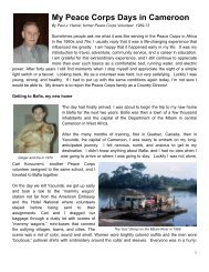 My_Peace_Corps_Days_.. - Paul J Hamel Official Website All Rights ...