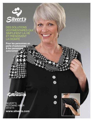 Catalogue de Vêtements pour les Âgées de Silvert's pour l'Automne ...