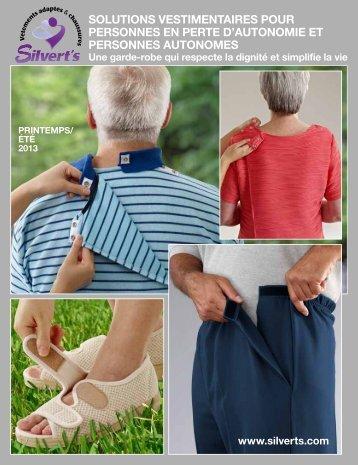 Catalogue de Vêtements pour les Âgées de Silvert's